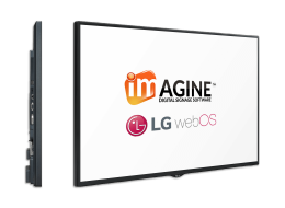 LG webos signage software with Imagine Software